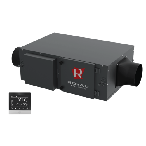 Приточно-вытяжная установка Royal Clima RCV-500 + EH-1700
