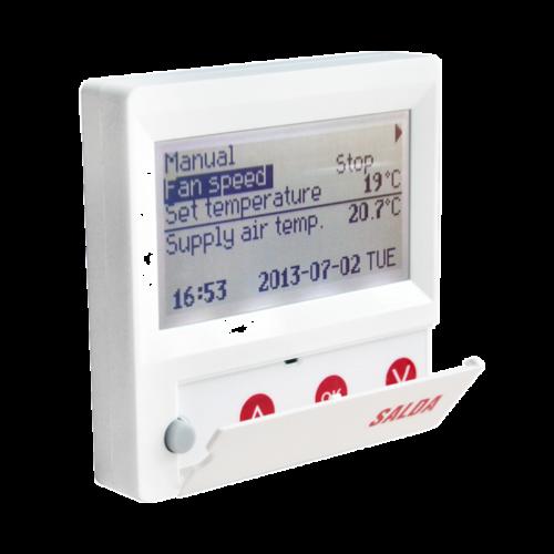 Программируемый пульт SALDA Flex для вентустановок SALDA
