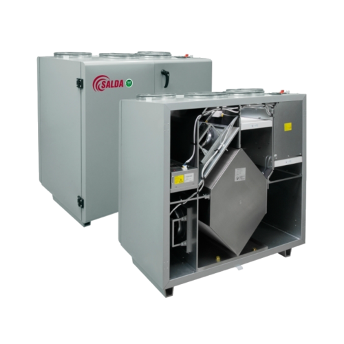 Приточно-вытяжная установка SALDA RIS 1200 VER EKO 3.0
